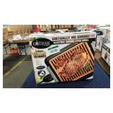 "Gotham Steel Elec. Smokeless Grill, Used, 16"" x"