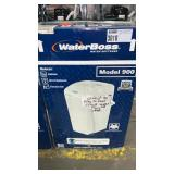 Water Boss Model 900 Water Softener, Crack Under