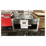 """Sharp 30"""" Real Stainless Built-In Microwave"""