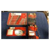1 Lot 3 Craftsman Wrench Sets: (2) 8-pc Dual