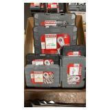 1 Lot 6 Craftsman Socket Wrench Sets, SAE & MM