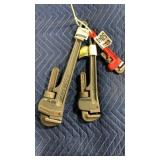 1 Lot 3 Master Adj. Pip Wrenches
