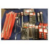 1 Lot Approx 21 Craftsman Socket Sets, SAE & MM
