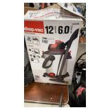 12-gal Shop Vac Wet/Dry Vac, Condition Unknown