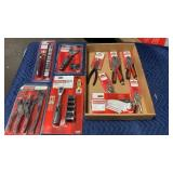 1 Lot 11 Craftsman Plier and Wrench Sets:
