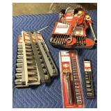1 Lot 8 Craftsman Wrench & Socket Sets: