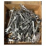Box Approx 50 Asst Craftsman Wrenches, SAE & MM