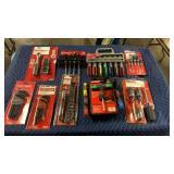 1 Lot 9 Asst. Tool Sets: Hex Key Set, Screwdriver