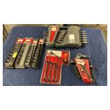 1 Lot 7 Craftsman Wrenches & Socket Tool Sets: