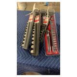 1 Lot 6 Craftsman Socket Sets: (2) 13 Pc. SAE & MM