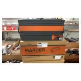 2x Harden Metal Hip Roof Tool Box