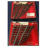 1 Lot 2 Craftsman Combo Wrench Sets SAE & MM