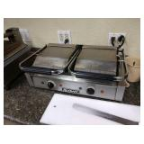 Adcraft Double Panini Grill