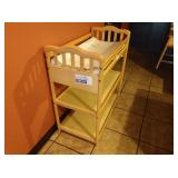 Maple 3-Tier Baby Changing Station
