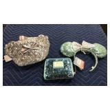 1 Lot 3 Disney Sequined Items: Fanny Pack,