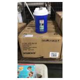 2 Cases Igloo 1/2 Gal. Blue Drink Coolers, 6 per