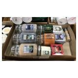 1 Lot 11 Yankee Candle Items: 3 Large Jars,