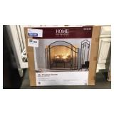 "Home Dec. Coll. Black 48"" Salishan Fireplace"