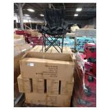 15X  (15) CASES OF ACE LINE BLACK FOLDING CHAIRS