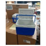 19X (19) CASES OF COLEMAN FLIP LID 6 CAN COOLERS,
