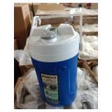 9X CASES BLUE IGLOO 1/2 GAL COOLERS, 6 per Case