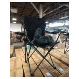 1 CASE OF ACE LINE BLACK FOLDING CHAIRS