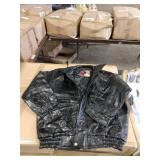 5X NAPOLINE LEATHER LINED LEATHER JACKETS