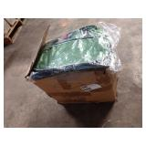 1 LOT CASE OF PREFERRED NATION GREEN GYM BAGS