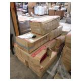 1 LOT, (10) BOXES ASST RED TRAVELER