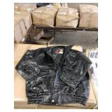 NAPOLINE LEATHER OUTFITTERS LINED LEATHER JACKET