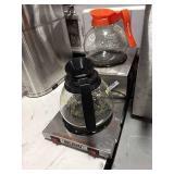 Bunn 2-Step Warmer, Model WL2Black w/ 2 Coffee
