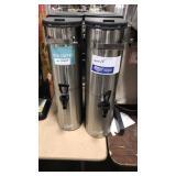 1 Lot 2 Curtis SS Iced Tea Dispensers