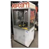 High Volume Popcorn Machine on Rolling Base