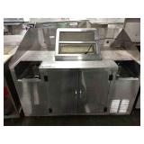 Rolling SS Concession Condiment Cabinet, Approx