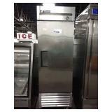 True SS Single Door Refrigerator on Wheels, Model