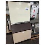 Scotsman Ice Maker w/ Dump Bin, Model CM250AE-1E