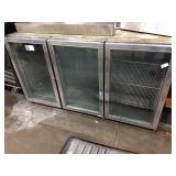 Beverage Air Glass Door Back Bar Cooler ** 1 Door