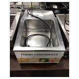 APW Wyott 4-Comp. Countertop Condiment Dispenser,