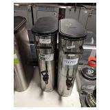 1 Lot 2 Curtis SS Iced Tea Dispensers  #14