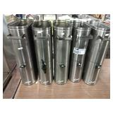 1 Lot 5 Curtis SS Iced Tea Dispensers **Missing