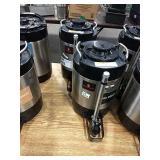 1 Lot 2 Grindmaster Hot Beverage Dispensers (Dark