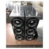 1 Lot 2 SS 3-Hole Cup Dispensers