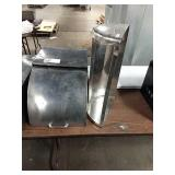 """SS Roll Top Cover, Approx 22"""" x 14"""" x 12"""" Tall &"""