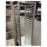 "Rolling Alum Sheet Pan Rack, Approx 20.5"" wide x"