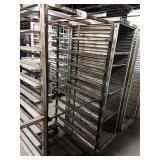 """Roll in Alum Sheet Pan Rack, Approx 28"""" wide x"""