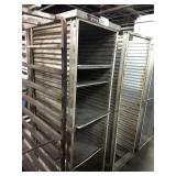 Crescor Enclosed Alum Rolling Sheet Pan Rack