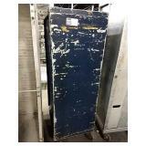 "Rolling Enclosed Alum Sheet Pan Rack, Approx 21"""