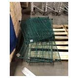 Skid Asst Green Metro Shelf Pieces, Asst Sizes,