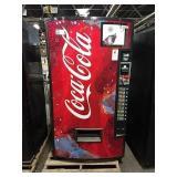 Vendo 9-Selection Coca-Cola Vending Machine w/