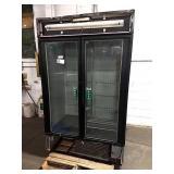 True 2-Glass Door Display Refrigerator **Cannot